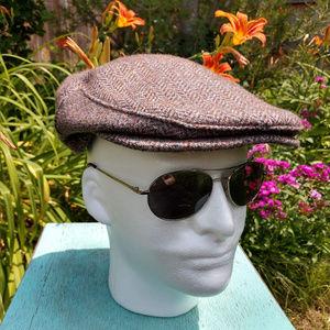 Vintage Men's Flat Cap sz 7 1/4